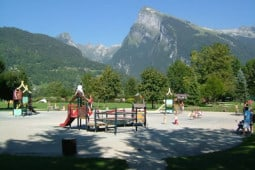 Adventure playground in Samoens