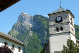Samoens church
