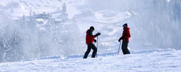 Winter in Samoens